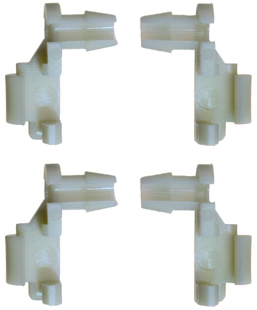 Door Handle Rod End Retainer Clip PT Auto Warehouse BCF8898P2 Replace OE #: 88981030 and OE #: 88981031 Set of 4 Retainer Clips