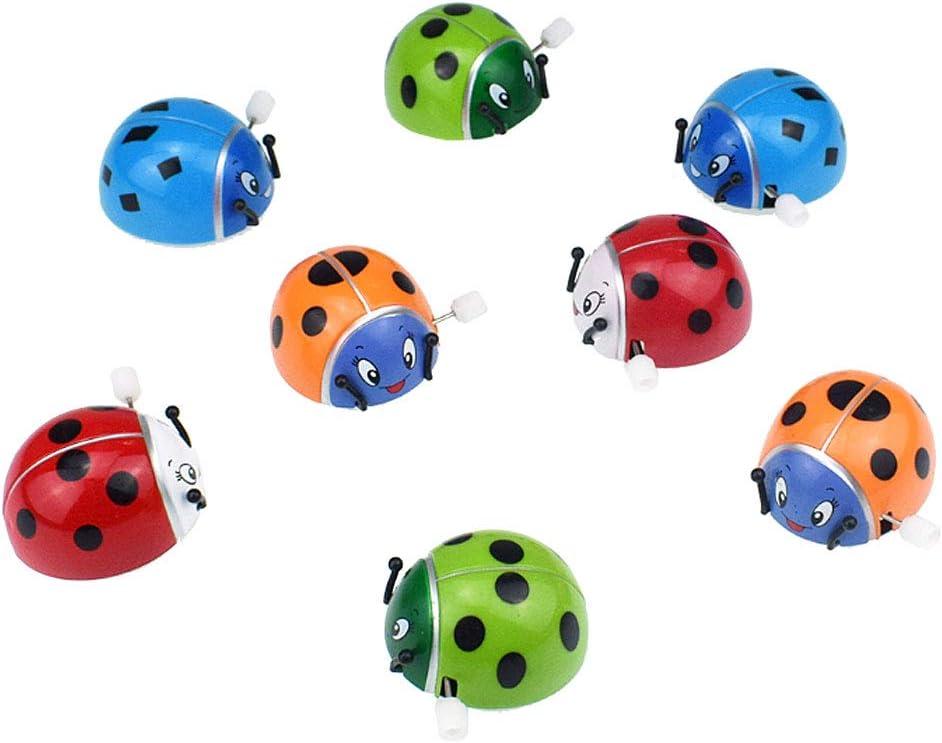 Sichuan Fr/ühling Marienk/äfer Aufwickeln Somersault Rotation Spielzeug Kinder Kinder Geschenke Lustiges Spiel Insekt Spielzeug Uhrwerk Interaktive intellektuelle p/ädagogische