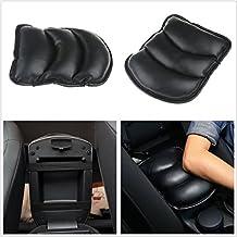 Black Car SUV Center Armrest Console Box Soft Pad Cover Cushion Durable Wear Mat