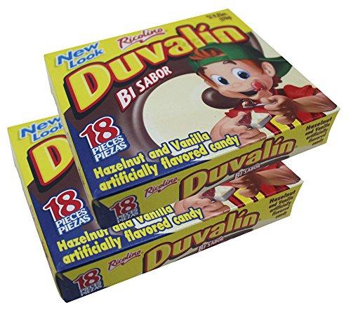 Ricolino Duvalin Bi Flavor Hazelnut Vanilla Spread (2 Pack) ()