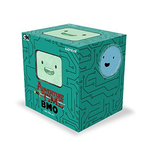 Kidrobot X Adventure Time   Bmo  Beemo  Medium Figure   8 Inches