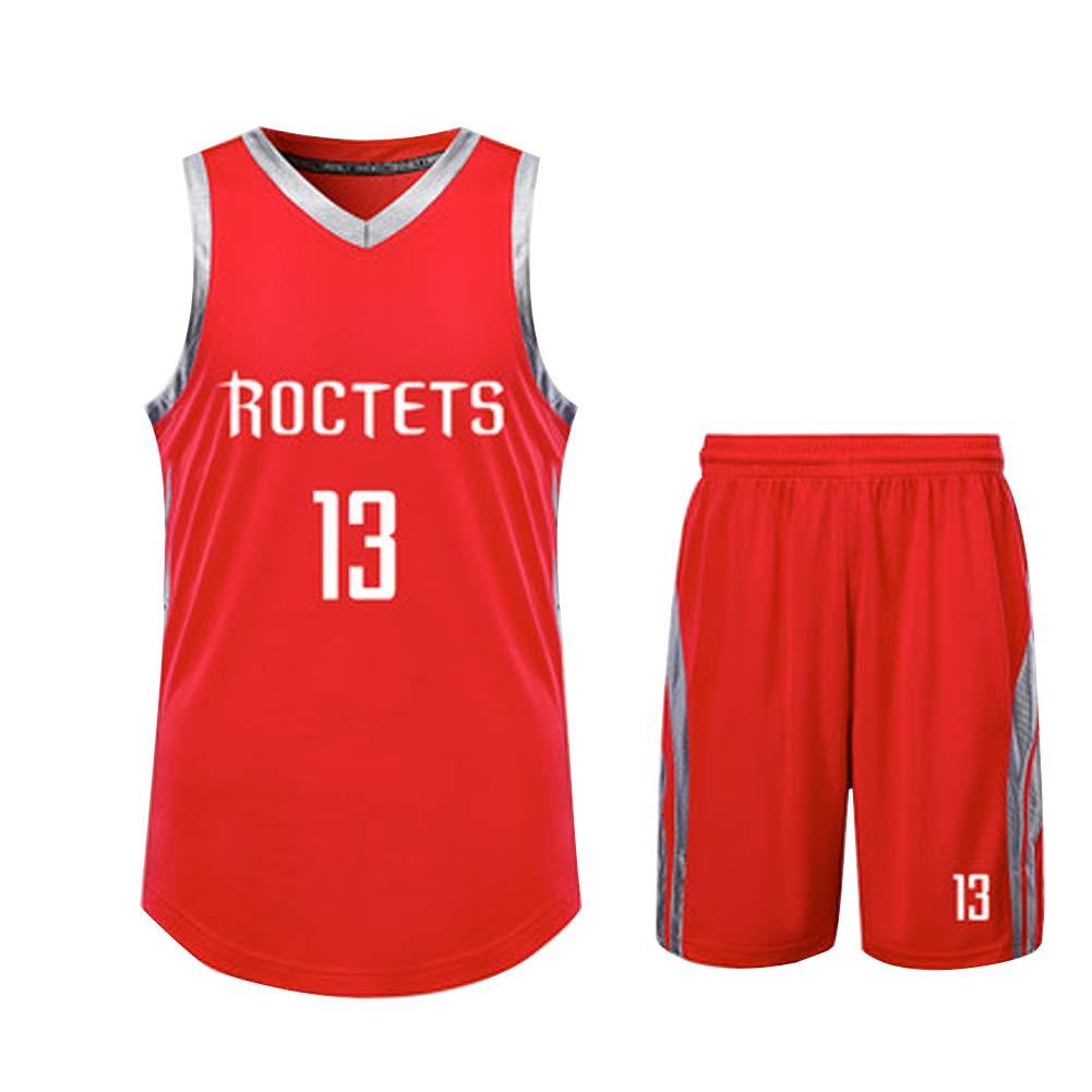 Maglia Maglie Poliestere Maglia Shirt Partito di Abbigliamento Hip-Hop 90S Giovani//Adulti James Harden Mens 13 \Houston Rockets Maglia da Basket S-XXXL Verde