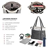 Women's Work Bag with Laptop Compartment Zipper
