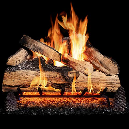 (GasLogGuys 18 Inch Grand Mountain Split Oak Gas Logs (logs Only - Burner Not Included))
