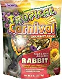 F.M. Brown's Tropical Carnival Rabbit Food, 20-Pound