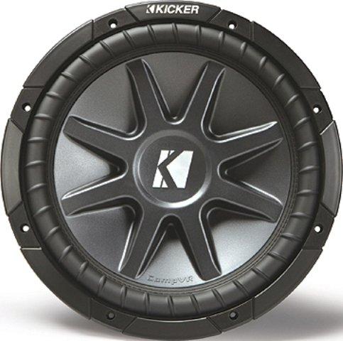 "Kicker CVR102 10"" CVR COMP-VR DVC 2 OHM WOOFER"