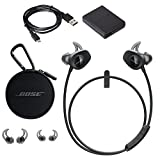 Bose SoundSport Wireless Headphones (Black) & Bose Wall Charger - Bundle