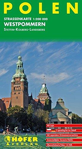 Höfer Straßenkarten, Polen, Westpommern