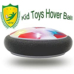 Happy Gift Kids Toys The Air Power Ball Powerful LED Light 3-12 Old Girls Sport,5-9 Year Old Girls,Boys Children Toys Training(Style2 Red)