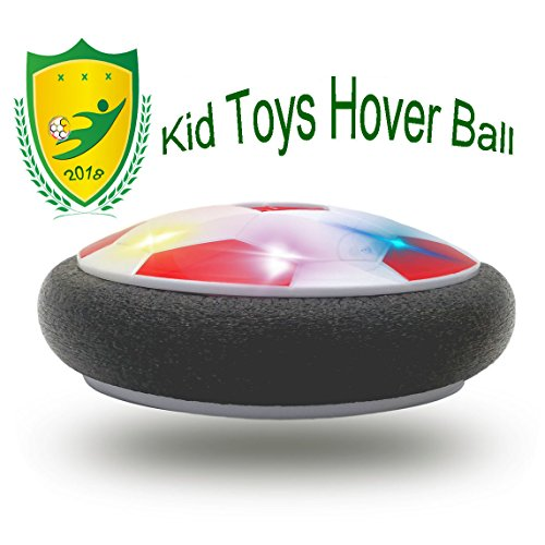Happy Gift Kids Toys The Air Power Ball with Powerful LED Light for 3-12 Old Girls Sport,5-9 Year Old Girls,Boys Children Toys Training(Style2 Red)