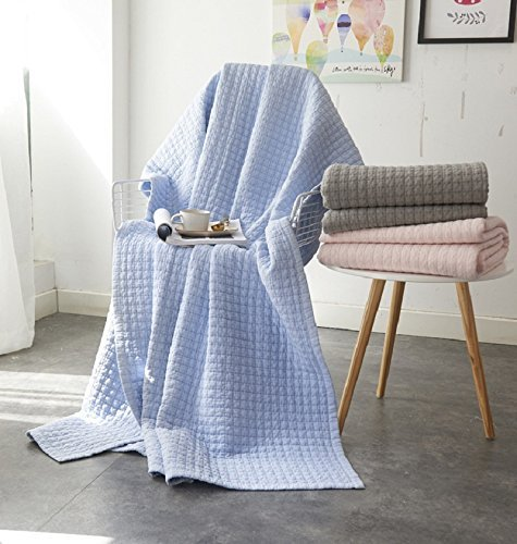 Antique Chic Reversible Quilted Throw Blankets 79 x 91 Gray Qucover