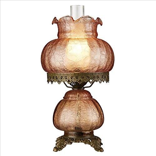 Design Toscano Victorian Style Hurricane Table Lamp