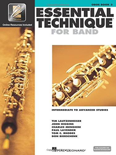 Essential Technique for Band with EEi - Intermediate to Advanced Studies: Oboe (Essential Elements - Elements Oboe Essential