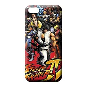 iphone 6 mobile phone carrying skins Snap-on Popular pattern final Street Fighter Game Hd