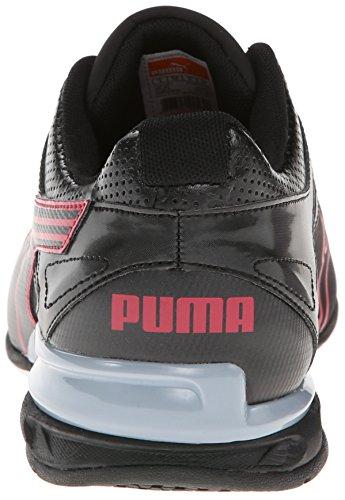 Puma Mens Tazon 5 Terränglöpning Sko Svart / Röd