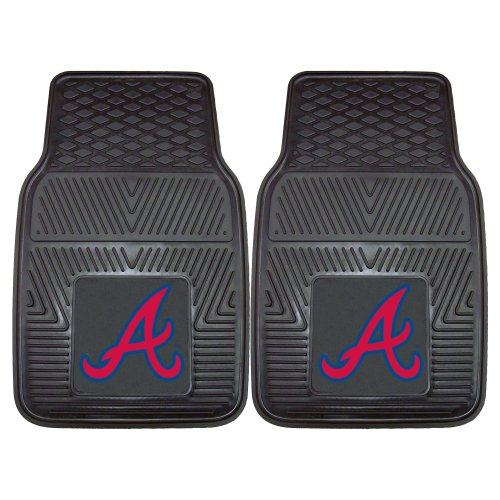 FANMATS MLB Atlanta Braves Vinyl Heavy Duty Car Mat