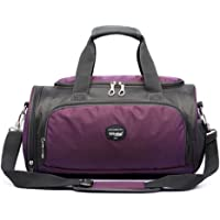 High-Graded Sport Bag Yoga Dance Bag Travel Bag with Shoes Compartment, C