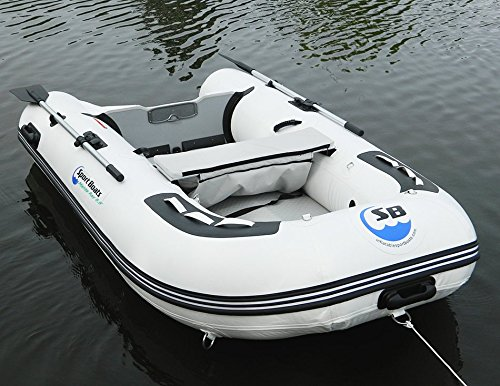 Inflatable Sport Boats Manta Ray 8.8' - Model 270 - Aluminum Floor Dinghy with Seat Bag by Inflatable Sport Boats (Image #1)