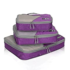Why do you deserve Hynes Eagle Travel Compression Packing Cubes 3 PCS Set?        1. Perfect luggage organizer set to store your clothing without searching all over the place.        2. Visible top panels and packing tag help you more ...