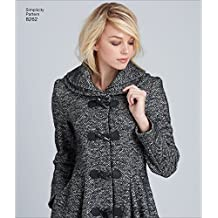 Simplicity Creative Patterns US8262D5 8262 Simplicity Pattern 8262 Leanne Marshall Coat or Jacket for Misses , Size: D5 (4-6-8-10-12),,