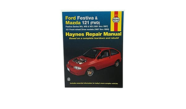ford festiva and mazda 121 fwd australian automotive repair manual rh amazon com 1995 Ford Festiva 1997 ford festiva owners manual download