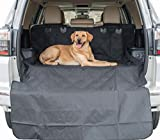 Premium Cargo Liner for Dogs Car and SUV Cover for Pets Waterproof Material Easy Clean Non Slip Backing Regular Size Black by Gifted Pets