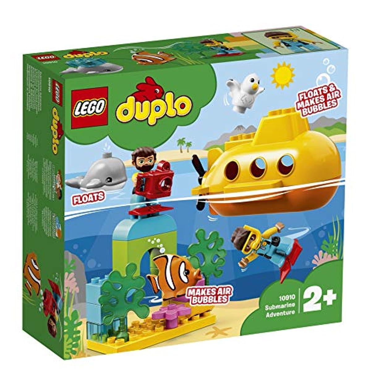 [해외] 레고(LEGO) 듀플로 세계의 동물 서브 마린의 수중 탐험 10910 교육 완구 블럭 장난감 소녀 사내 아이