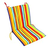 Soft Home/Office Seat Cushion High Back Chair Cushion Fashion Stripe,Mixed Color
