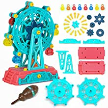 DIY Assembly Ferris Wheel Toys,Fidget Toys, Premium STEM Toys for 3-7 Year Girls and Boys Gifts