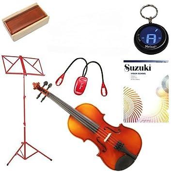 knilling Europa 3/4 tamaño Violin Outfit (3 K)-con música ...
