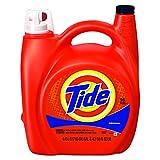 Tide 23064 Ultra Liquid Laundry Detergent, Original, 150 oz Pump Dispenser (Case of 4)