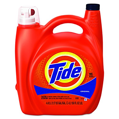 Tide 23064 Ultra Liquid Laundry Detergent, Original, 150 oz Pump Dispenser (Case of 4) by Procter And Gamble