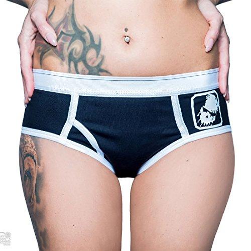 Infest Clothing - Shorts - para mujer negro