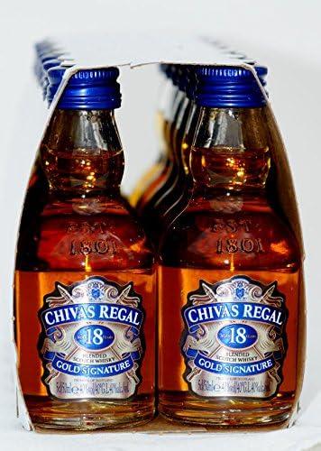Miniatura Chivas Regal 18 Años 5Cl: Amazon.es: Alimentación y bebidas
