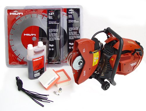 Hilti 03482169 DSH700 12-Inch Hand Held Gas Saw Starter Pack
