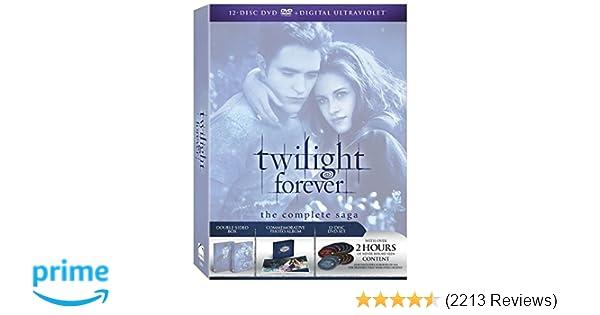 Amazon com: Twilight Forever: The Complete Saga [DVD + Digital