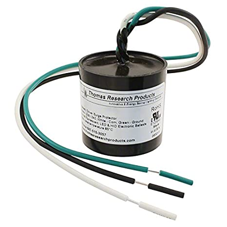 Thomas BSP3-277-LC Ballast/LED Driver Transient Immunity Surge Protector Device Thomas Research Products