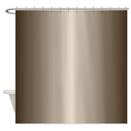 Amazon CafePress Bronze Metallic Shiny Looking Shower Curtain