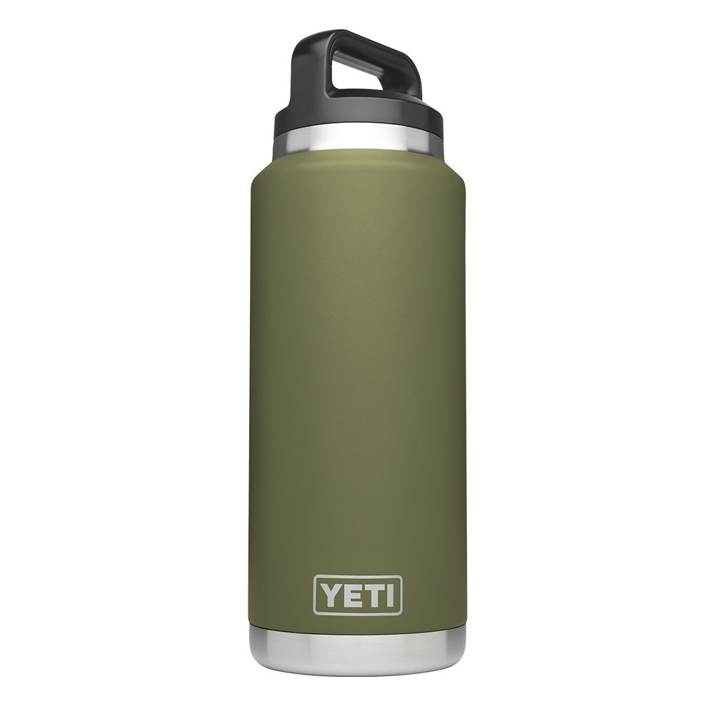 YETI Rambler 36oz Vacuum Insulated Stainless Steel Bottle with Cap (Stainless Steel) (Olive Green) by YETI