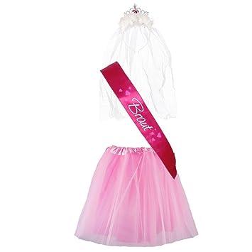 """Partybob JGA-Kostüm """"Braut"""" - Junggesellinnenabschied-Verkleidung ..."""