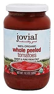 Jovial Organic Whole Peeled Tomatoes - 18.3 oz