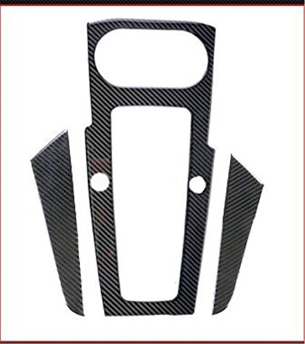 Carbon Fiber Interior Decoration Decal Frame Cover Trim SLine Quattro For Audi A3 S3 2013+ LHD (Gear Shift Dash Frame Cover)