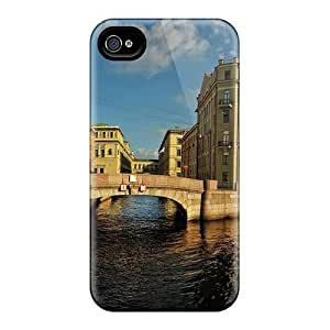 HQSPelf4074qvqxD AnnetteL Neva River In St Petersburg Russia Durable Iphone 4/4s Tpu Flexible Soft Case by lolosakes