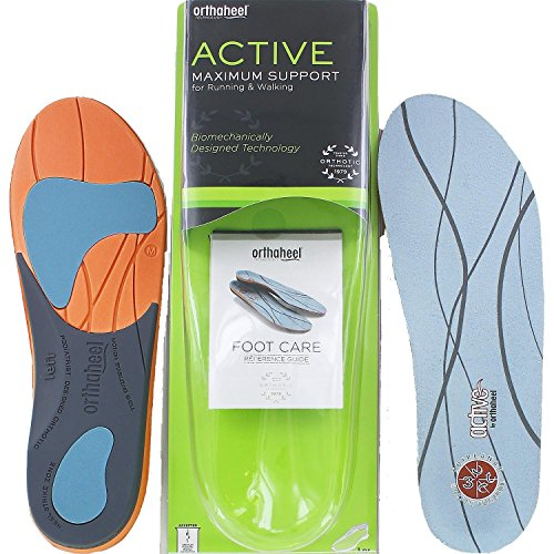 Orthaheel Orthotics - Active Insoles size: X-Large