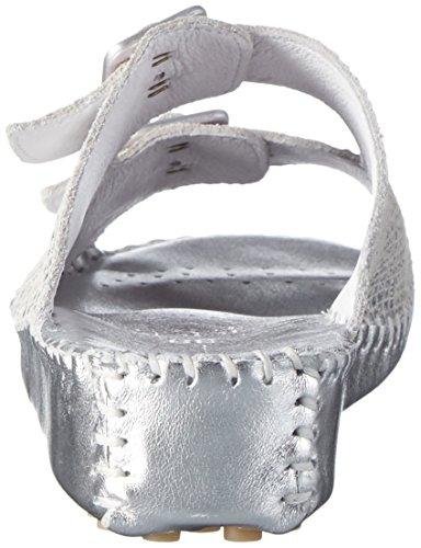 Hans Herrmann Collection 021133, Zuecos Mujer Plateado (argento-vip)