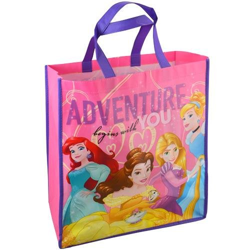 UPD Disney Princess Reusable Tote Bag, Multicolor