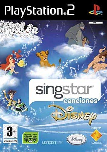 Sony SingStar canciones Disney - PS2 vídeo - Juego (PlayStation 2 ...
