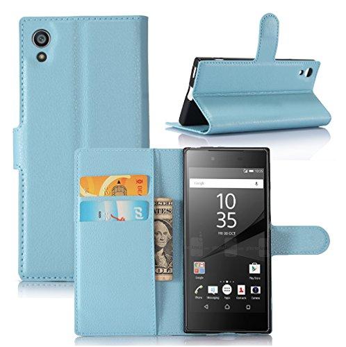 Funda Sony Xperia Z6,Manyip Caja del teléfono del cuero,Protector de Pantalla de Slim Case Estilo Billetera con Ranuras para Tarjetas, Soporte Plegable, Cierre Magnético F