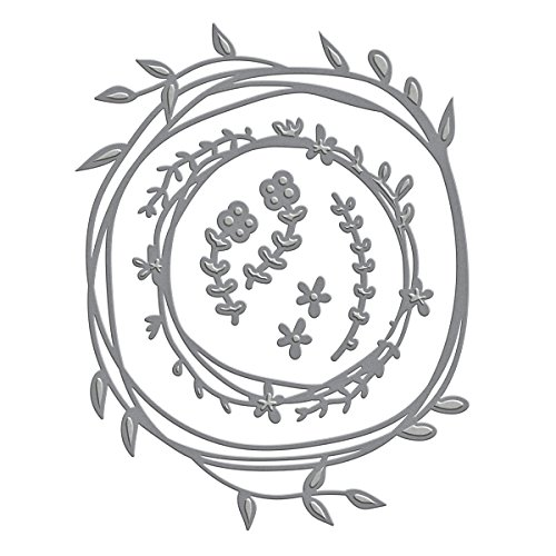 Spellbinders S4-572 Shapeabilities Woodland Wreath Etched/Wafer Thin -