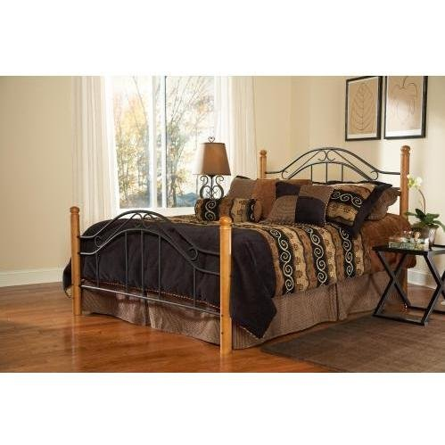 Hillsdale Furniture 164BK Winsloh Bed Set, King, ()